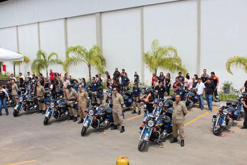 Novas motos especiais para a PRF