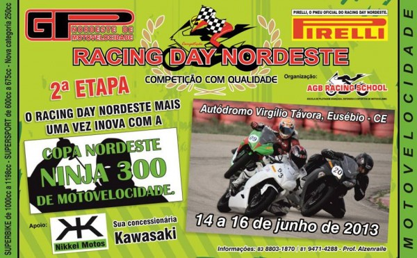 Racing Day Nordeste.