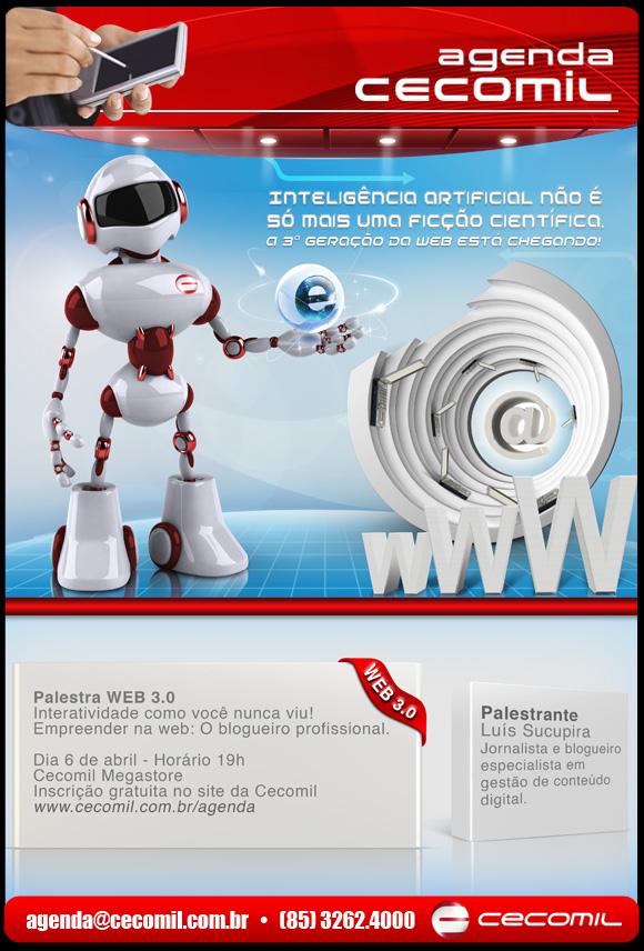Palestra Web 3.0 em Fortaleza