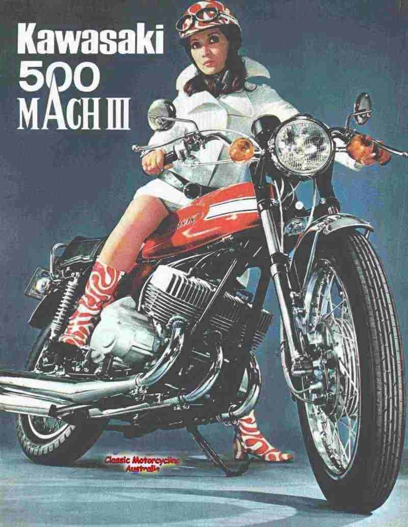 A história da Kawasaki – terra, ar, água e motos!