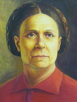 Bárbara de Alencar, primeira prisioneira política do Brasil.