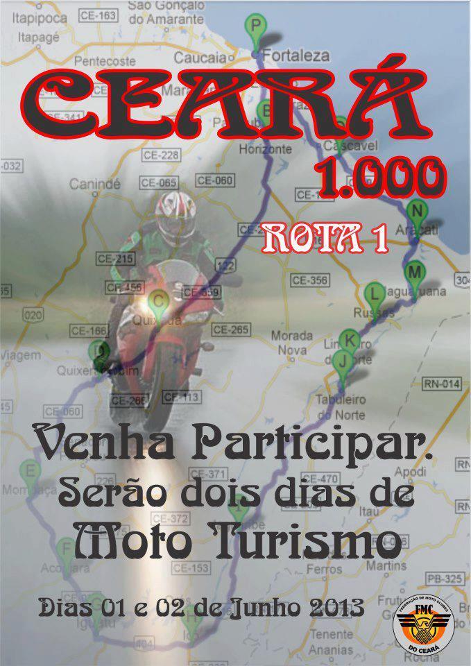 Ceará 1000 Rota 1 passará por Iguatu!