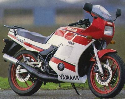 "MÁRIO SÉRGIO FIGUEREDO: Yamaha RD 350, a ""viúva negra"""