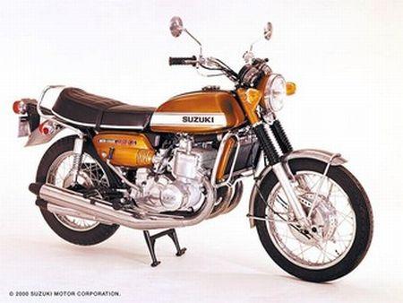 Suzuki GT 750 – Uma grande motocicleta!