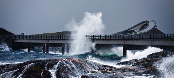 Estradas fantásticas: Atlântic Road Norway