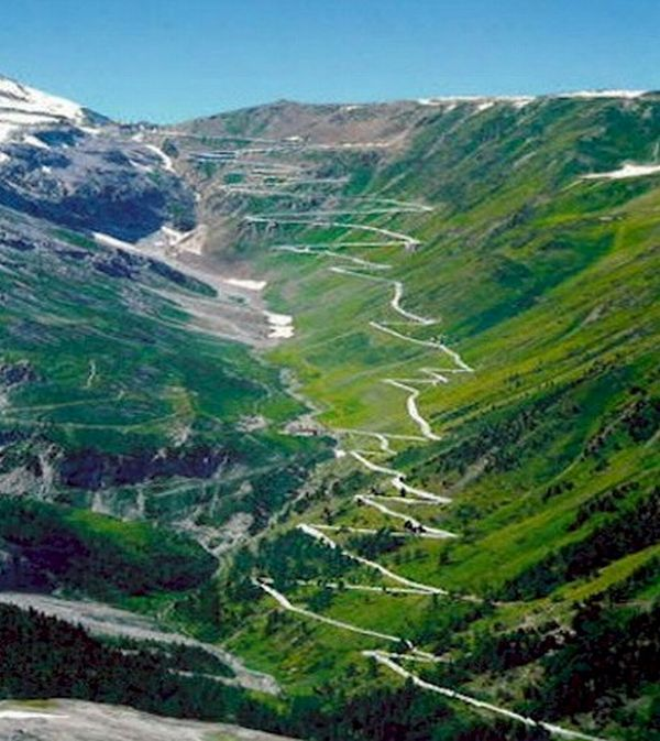 Estradas fantásticas: Passagem de Stelvio