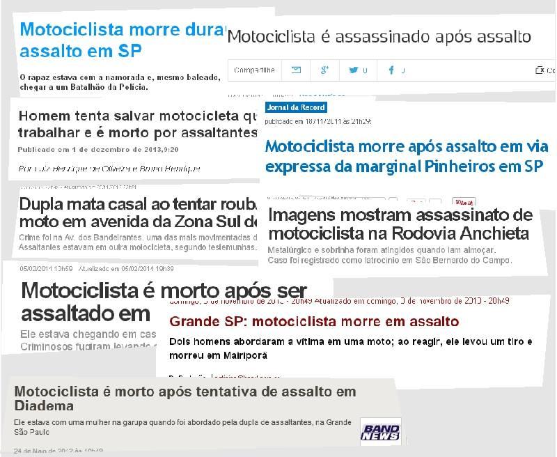CARTA ABERTA AOS POLÍTICOS E MOTOCICLISTAS DE SÃO PAULO.