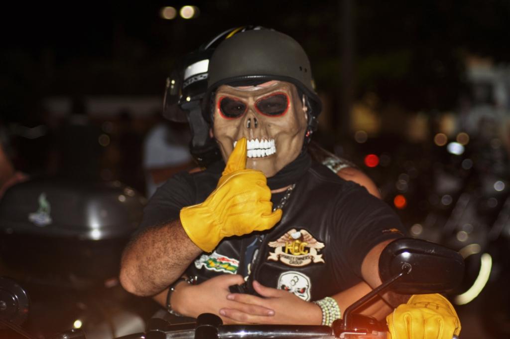 Encontro Bimestral de Motociclistas de Fortaleza comemora 1º. Ano.