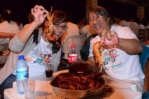 Se você gosta de lagosta, o lugar é aqui. Foto: Luiz Almeida.
