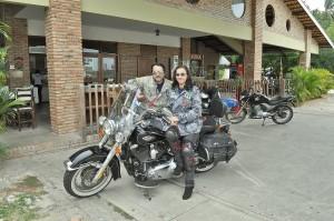 Vento Leste - ponto de encontro de motociclistas para café da manhã.