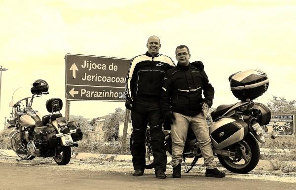Passando por Jericoacoara e entrando no Ceará contornando pelas fronteiras Foto: Ricardo Carvalho.