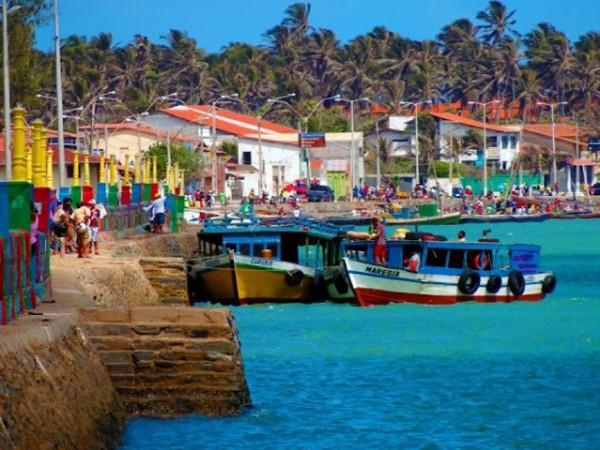 Vista do Porto de Camocim. Foto:Rafael Lima
