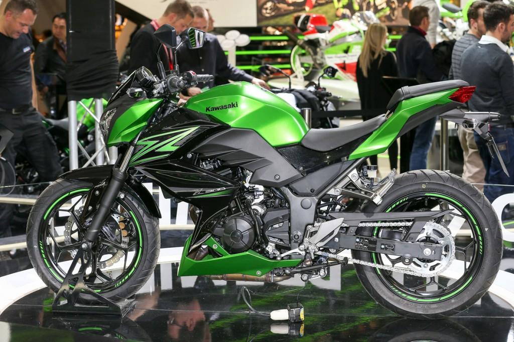 MILÃO – Acabou o mistério. As novas 250 e 300 Nakeds da Kawasaki chegam na Europa em 2015.