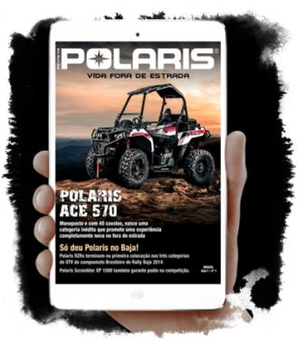 Polaris Brasil Inova e Lança Revista Digital