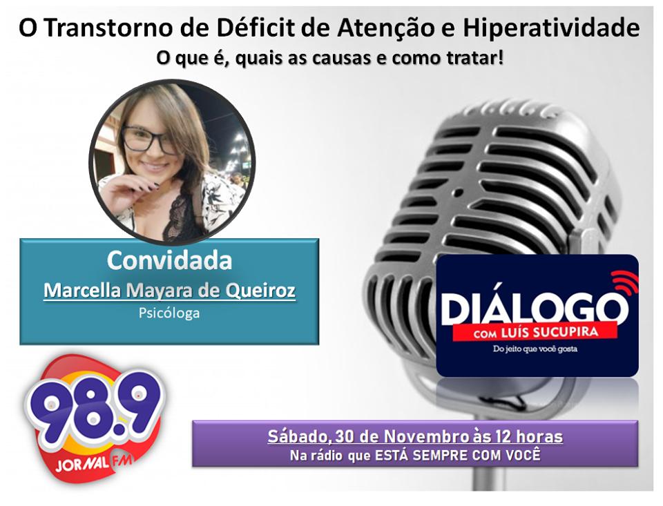PODCAST – TDAH – Transtorno do Déficit de Atenção com Hiperatividade – Jornal FM