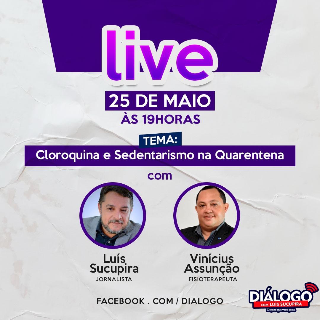 Podcast Diálogo com dr. Vinícius Mendonça – Cloroquina e Sedentarismo – Jornal FM