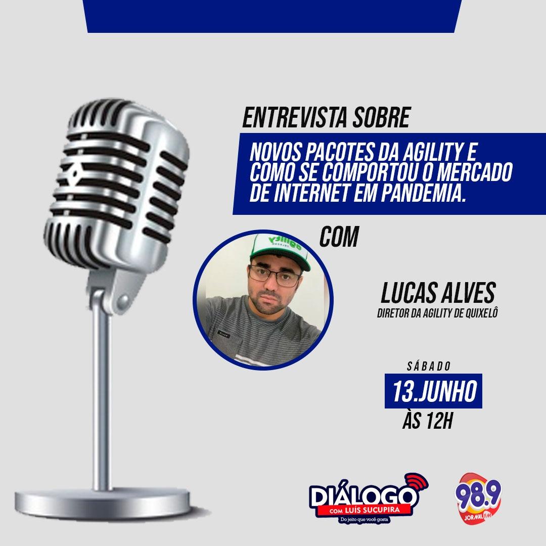 PODCAST DIÁLOGO Lucas Alves – Diretor da Agillity – 13/06/2020
