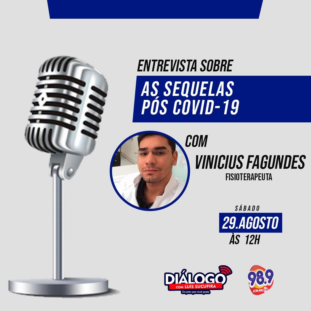 PODCAST Diálogo sobre o efeito pós COVID-19 – Jornal FM 98.9